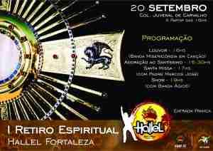 Banner I Retiro Hallel 3